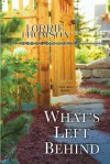 What's Left Behind - Lorrie Thomson