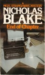 End of Chapter - Nicholas Blake