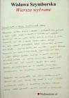 Wiersze wybrane - Wisława Szymborska
