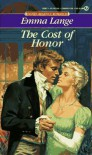 Cost of Honor - Emma Lange