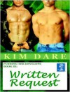 Written Request - Kim Dare