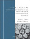 Finis Rei Publicae: Eyewitness to the End of the Roman Republic, a Textbook for Intermediate Latin - Robert Knapp,  Pamela Vaughn