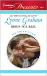 Bride for Real - Lynne Graham