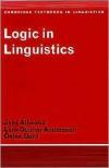 Logic in Linguistics - Jens Allwood