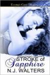 Stroke of Sapphire - N.J. Walters