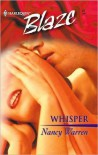 Whisper (Harlequin Blaze #47) - Nancy Warren
