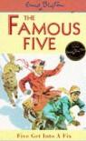 Five Get into a Fix (Famous Five, #17) - Enid Blyton