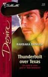 Thunderbolt over Texas (Silhouette Desire, #1704) - Barbara Dunlop