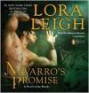 Navarro's Promise: Breeds Series, Book 24 (MP3 Book) - Lora Leigh, Brianna Bronte