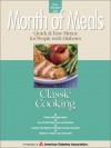 Month of Meals - Quick & Easy Menus for People With Diabetes: Classic Cooking - American Diabetes Association