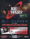 Red Dwarf RPG AI Screen - Various, EDS Staff