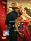 Montana Mistress (Silhouette Desire Series #1941) - Sara Orwig