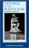 A Journal of the Plague Year - Daniel Defoe, Paula R. Backsheider