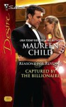 Captured By The Billionaire (Silhouette Desire) - Maureen Child
