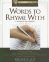 Words to Rhyme with: A Rhyming Dictionary - Willard R. Espy, Orin Hargraves
