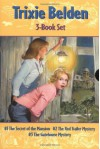 Trixie Belden Boxed Set #1-#3 - Julie Campbell, Michael Koelsch, Mary Stevens