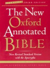 The New Oxford Annotated Bible, New Revised Standard Version with the Apocrypha (Augmented Third Edition) - Anonymous, Oxford University Press