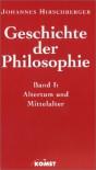 Geschichte Der Philosophie - Johannes Hirschberger