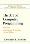 Art of Computer Programming/Sorting and Searching. (Addison Wesley Series in Computer Science and Information Processing) - Donald Ervin Knuth