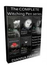 The COMPLETE Witching Pen Series, Boxed Set: The Witching Pen, The Sands Of Time, The Demon Bride, The Last Dragon and Wilted - Dianna Hardy