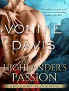 A Highlander's Passion: A Highlander's Beloved Novel - Vonnie Davis