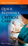 Quick Reference to Critical Care - Nancy H. Diepenbrock