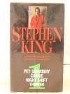 Stephen King 1: Pet Semetary, Carrie, Nightshift, Inner (4 Vols) - Stephen King