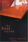 The First Verse: A Novel - Barry McCrea