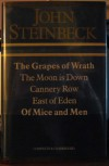The Grapes of Wrath/The Moon is Down/Cannery Row/East of Eden/Of Mice & Men - John Steinbeck
