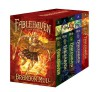 Fablehaven: Complete Set (Boxed Set): Fablehaven; Rise of the Evening Star; Grip of the Shadow Plague; Secrets of the Dragon Sanctuary; Keys to the Demon Prison (Fablehaven, #1-5) - Brandon Mull, Brandon Dorman