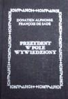 Prezydent w pole wywiedziony - Donatien Alphonse François de Sade