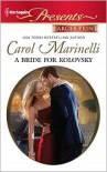 A Bride for Kolovsky (Harlequin Presents #2991) - Carol Marinelli