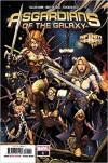 ASGARDIANS OF THE GALAXY #1 ((Regular Cover)) - Marvel Comics - 2018 - 1st Printing - MatteoLolliAsgardians1, CullenBunnAsgardians1