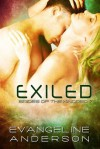 Exiled (Brides of the Kindred, #7) - Evangeline Anderson
