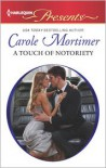 A Touch of Notoriety - Carole Mortimer