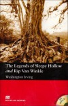 The Legends of Sleepy Hollow and Rip Van Winkle: Elementary (Macmillan Readers) - Washington Irving, Anne Collins