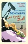 An Olympic Death - Manuel Vázquez Montalbán, Ed Emory, Ed Emery