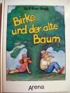 Birke und der alte Baum. Schw.-w. Ill. v.5Morenzi, Petra - Ute Krämer-Busch
