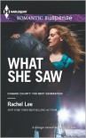 What She Saw (Harlequin Romantic Suspense Series #1743) - Rachel Lee