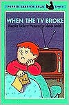 When the TV Broke - Harriet Ziefert, Mavis Smith
