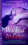 Wicked to Love (Wicked Lovers, #5.5) - Shayla Black