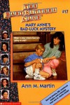 Mary Anne's Bad-Luck Mystery - Ann M. Martin