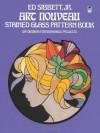 Art Nouveau Stained Glass Pattern Book - Ed Sibbett Jr., Ed Sibbett