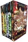 Box set: I Am Number Four / The Power of Six / The Rise of Nine / The Fall of Five / The Revenge of Seven - Pittacus Lore