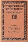 Wallenstein. Ein dramatisches Gedicht. - Friedrich Schiller, Franz Ullsperger