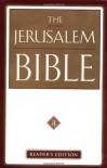 The Jerusalem Bible - Anonymous, Alexander Jones
