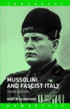 Mussolini and Fascist Italy (Lancaster Pamphlets) - Martin Blinkhorn