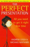 Perfect Presentation - Michael Maynard