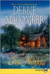 One Night LP - Debbie Macomber