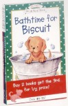 My First Biscuit Library: Biscuit, Biscuit Finds a Friend, Bathtime for Biscuit - Alyssa Satin Capucilli